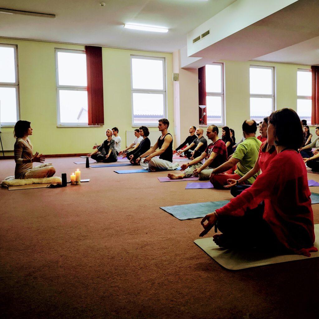 medytacja prowadzona na Festiwalu Serpiente